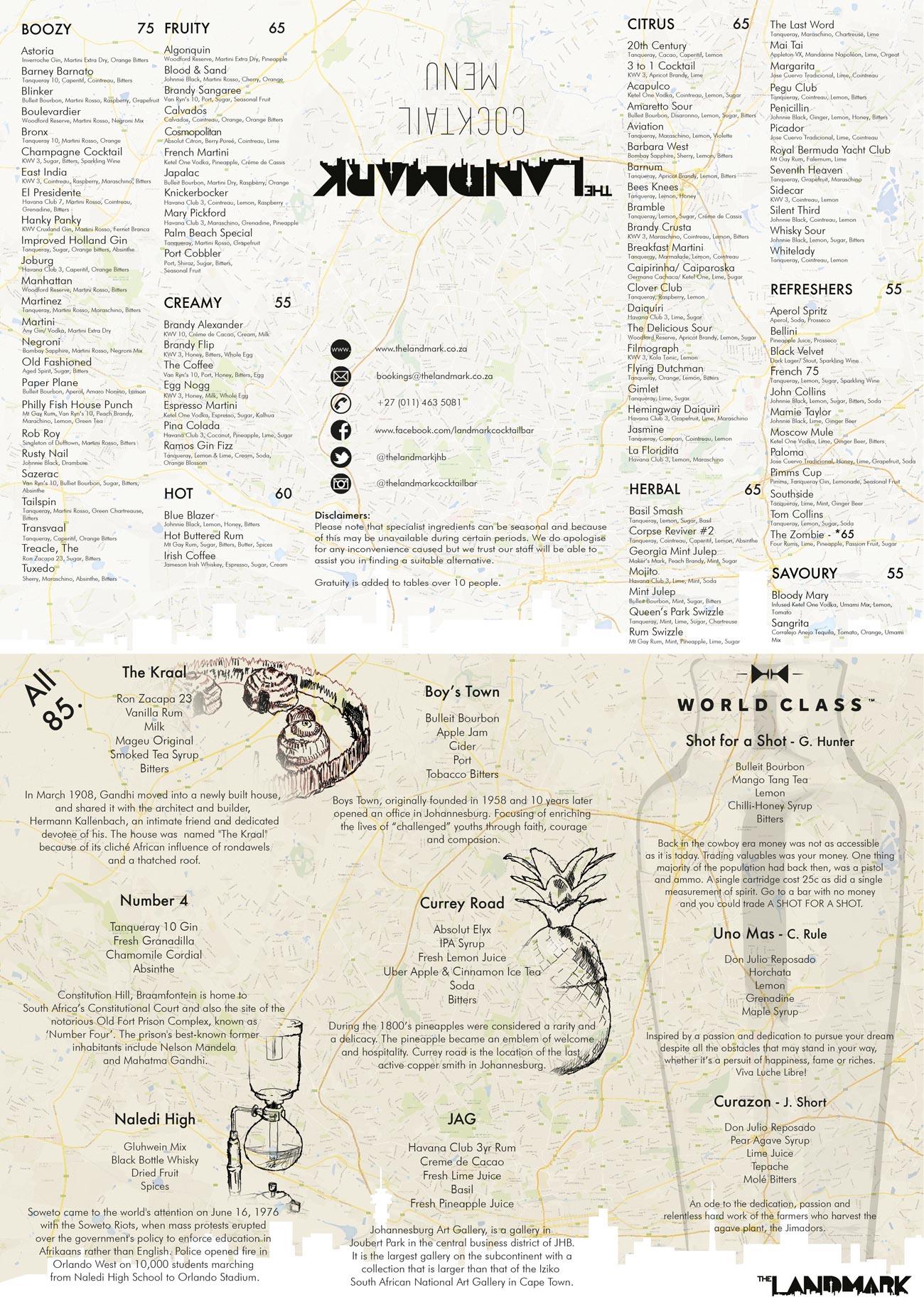 Cafe Del Sol Menu Parkhurst